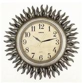 【衫衫來時】麗盛歐式複古鐘錶太陽裝飾掛鐘掛錶藝術掛鐘B8110BY