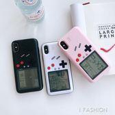 游戲機iphone 8plus俄羅斯方塊手機殼蘋果7p新款6s潮牌6情侶防摔套-Ifashion