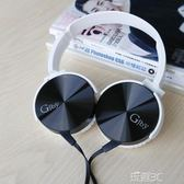 頭戴式耳機  糖果色大耳機頭戴式女生可愛潮語音樂韓版學生手機K歌 玩趣3C