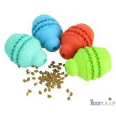 寵物玩具 狗狗玩具漏食球耐咬益智寵物玩具幼犬金毛泰迪狗玩具星記磨牙餅