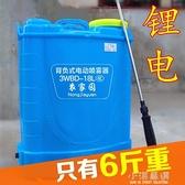 智慧背負式鋰電池農用電動噴霧器充電農藥高壓消毒機充電型打藥機CY『小淇嚴選』