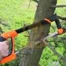 小鋼鋸架重型鋸弓多功能據子鋼鉅手工鋸強力鐵鋸手鋸木工鋸子家用 3C優購