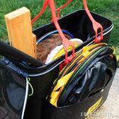 釣魚桶 魚護桶eva 加厚摺疊釣魚桶多功能裝魚桶活魚桶雙層防水魚護包 igo igo 1995生活雜貨
