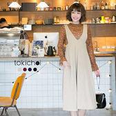 東京著衣-多色雜誌款高腰連身裙-S.M.L(172433)