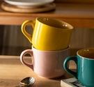早餐杯 主婦杯子家用可愛陶瓷杯情侶杯大容量馬克杯燕麥早餐杯咖啡杯【快速出貨八折下殺】