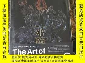 二手書博民逛書店FINAL罕見FANTASY XIV: A Realm Reborn The Art of EorzeaY11
