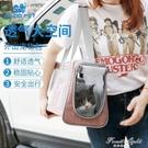 寵物外出便攜包貓咪博美夏天透氣包 泰迪吉娃娃小狗外出包 果果輕時尚