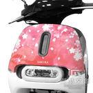 GOGORO 2面板貼 《潮酷文創》創意保護貼 獨特車貼 車膜 /  GR2066-櫻之春