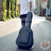 加厚吉他包41寸40寸民謠個性學生用琴包後背防水防震古典木吉他袋 XW