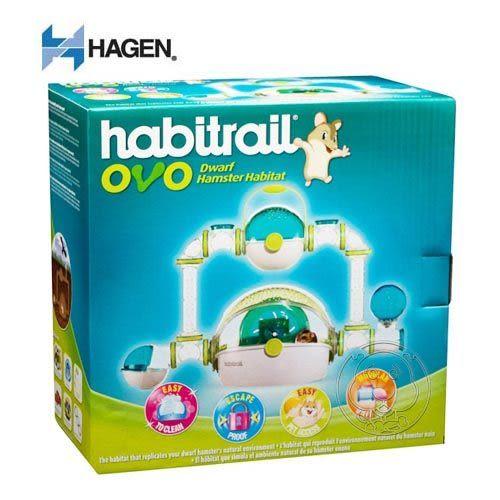【 zoo寵物商城】HAGEN 赫根 》寵物鼠誕生系列觀景城堡送鼠砂1包