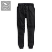 【Roush】 泰迪熊毛絨設計保暖棉質長褲 -【925508】