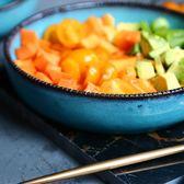 淺口盤 安塔利亞美式陶瓷餐具西餐盤 8英寸齒邊湯盤家用菜盤碟子【onecity】