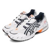 Asics 慢跑鞋 Gel-1090 白 深藍 Tiger 男鞋 女鞋 運動鞋 老爹鞋 【PUMP306】 1021A275100