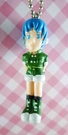 【震撼精品百貨】日本精品百貨-手機吊飾/鎖圈-格鬥系列-手機吊飾-綠衣女