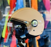海鳥安全帽,GOGORO安全帽/PN781/奶茶