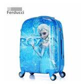 20寸冰雪奇緣行李箱 多啦A夢拉桿箱 大白  KITTY公主旅行箱 變形金剛登機箱【藍星居家】