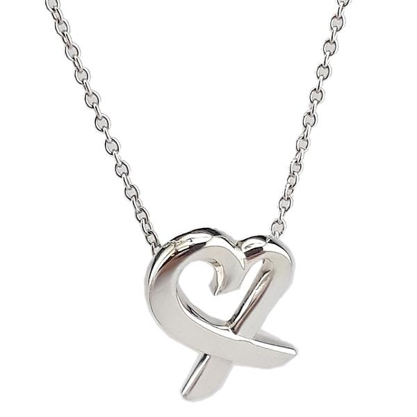 【奢華時尚】TIFFANY&Co. Loving heart 925純銀項鏈