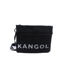 KANGOL 側背包 黑色 6125170320 noC76