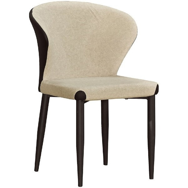 餐椅 QW-708-14 坦雁米色布餐椅【大眾家居舘】