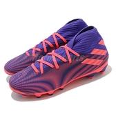 【海外限定】adidas 足球鞋 Nemeziz .3 MG 藍紫 桃紅 多功能 足球靴 愛迪達 男鞋【ACS】 EH0523