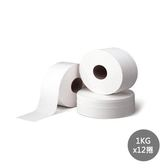 【百花】環保大捲筒衛生紙1kg*12捲