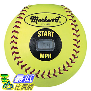 [8美國直購] 測速球 Markwort Speed Sensor Yellow Cover Softball