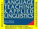 二手書博民逛書店Longman罕見Dictionary Of Language Teaching And Applied Ling