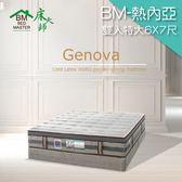 客約商品 床大師名床 涼感水冷膠AGRO獨立筒床墊 7尺雙人 (BM-熱內亞)
