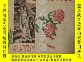 二手書博民逛書店【作者簽名本】【作者簽名信件】1936年初版 Selling罕見Wilted Peonies: Biography