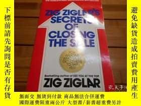 二手書博民逛書店ZIG罕見ZIGLRS SECRETS OF CLOSING T