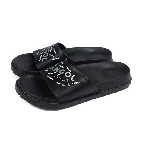 KANGOL 拖鞋 戶外 男鞋 黑色 6125162120 no173