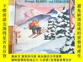二手書博民逛書店NEW罕見HORIZONS through READING and LITERATURE BOOK 2Y153