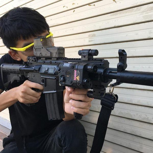 M4四代水彈槍連發電動男孩兒童玩具槍軟彈槍可發射成人仿真cs對戰 雲雨尚品