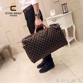 旅行袋原創設計新款休閒韓版男包手提旅行包出差大包旅行箱包旅遊包 蘿莉小腳ㄚ