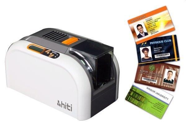 誠研 Hiti CS-200e 製卡機 人像卡片 證件 人像證件打卡機 彩色打卡機 彩色製卡機+YMCKO彩色色帶(400面)