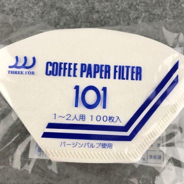 日本製三洋濾紙 咖啡濾紙 漂白扇形濾紙 G101/G102 適用三洋濾杯 100入一包 玩家專用