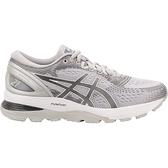 Asics GEL-Nimbus 21 [1012A156-020] 女鞋 運動 慢跑 健走 休閒 緩衝 亞瑟士 灰銀