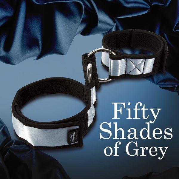 手銬 SM 角色扮演 情趣用品-BDSM Fifty Shades Of Grey 格雷的五十道陰影 承諾服從手臂約束 束縛帶