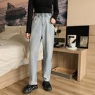 牛仔褲寬管褲小腳褲中大尺碼M-4XL9999破洞牛仔褲胯大腿粗寬松顯瘦大碼高腰哈倫褲潮1F051.依品國際