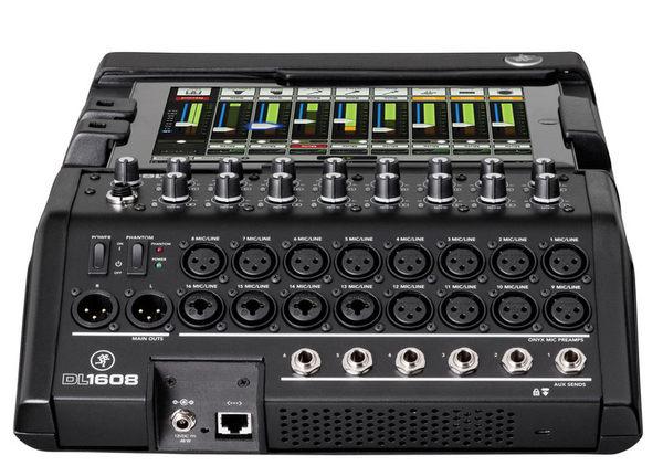 【金聲樂器廣場】全新 Mackie DL-1608(Lightning)16 軌數位混音器 for New I-pad