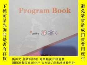 二手書博民逛書店國際組織工程與再生醫學學會亞太年會Program罕見BookY2