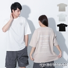 韓國製 【OBIYUAN】寬鬆短t上衣 方框 字母印花 落肩 衣服 共3色【F10017】
