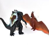哥吉拉 酷斯拉 Godzilla 拉頓怪鳥 RODAN 2019電影版本軟膠 日本帶回 BANDAI 兩隻一起賣