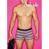 Aubade man-舒棉M-XL平口褲(閃耀-粉)