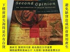 二手書博民逛書店second罕見opinion:第二意見(英文)Y212829 出版1998
