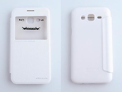 NILLKIN Samsung Galaxy J5 側翻手機保護皮套 SPARKLE 新皮士系列-星韻