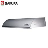 【櫻花牌】單層式除油煙機  不鏽鋼70公分 - R-3012S