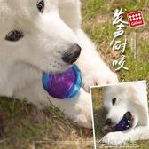 狗狗玩具球耐咬大型犬磨牙棒彈力訓練球小狗幼犬博美金毛用花間公主