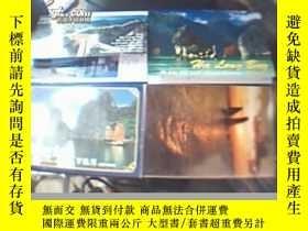 二手書博民逛書店明信片罕見世界遺產 下龍灣+長城 【4套和售】23153 外文出