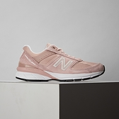 New Balance 女鞋 粉 復古 麂皮 網布 休閒鞋 W990PK5